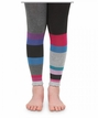 Girls : Tights : Color Block Footless Tights