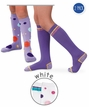 Girls ; Bubble Knee High 2 Pack Socks