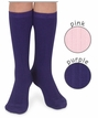 Girls : Textured Knee High Socks