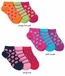 2738 Dot Stripe Star Low Cut Triple Treat 3 Pair Pack