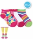 2745 Dots / Color Block / Stripes Low Cut 3 Pair Pack