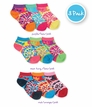 2748 Tie Dye Low Cut Socks 3 Pair Pack