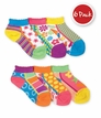 2750 Mix & Match Low Cut Socks 6 Pair Pack