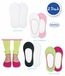 2777 Seamless Cotton Footie Socks 2 Pair Pack