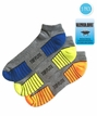 3957 Top Flite Sport Athletic Performance Moisture Control LC 3 Pair Pack