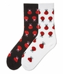 61324 Large Ladybugs Socks