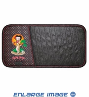 10 CD/DVD Car Visor Organizer - Betty Boop - Aloha Hawaiian