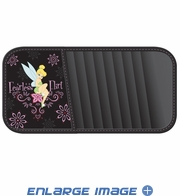 10 CD/DVD Car Visor Organizer - Disney - Tinkerbell - Fearless Flirt