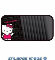 10 CD/DVD Car Visor Organizer - Sanrio - Hello Kitty - Waving