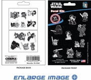 11PC Decal Kit - Star Wars - Characters