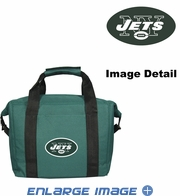 12 Pack - Insulated Cooler Lunch Bag - New York Jets