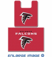 2PC Bathroom Rug Set - Atlanta Falcons