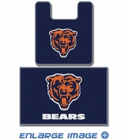 2PC Bathroom Rug Set - Chicago Bears