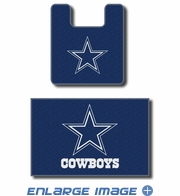 2PC Bathroom Rug Set - Dallas Cowboys