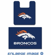 2PC Bathroom Rug Set - Denver Broncos