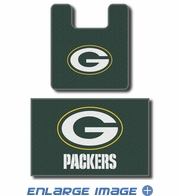 2PC Bathroom Rug Set - Green Bay Packers