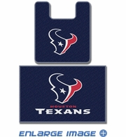2PC Bathroom Rug Set - Houston Texans