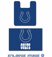 2PC Bathroom Rug Set - Indianapolis Colts