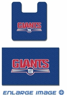 2PC Bathroom Rug Set - New York Giants