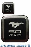 2PC Decal - Ford - Mustang 50 Years