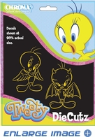 2PC Die-Cut Decal Set - Tweety Bird - Angel and Devil