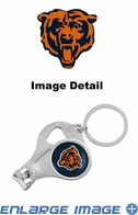 3-in-1 Set - Nail Clipper Key Chain Bottle Opener Set - Chicago Bears