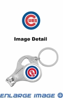 3-in-1 Set - Nail Clipper Key Chain Bottle Opener Set - Chicago Cubs