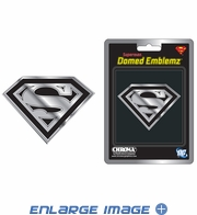 3D Chrome Emblem - Car Truck Home Office - DC Comics - Superman - Shield Logo