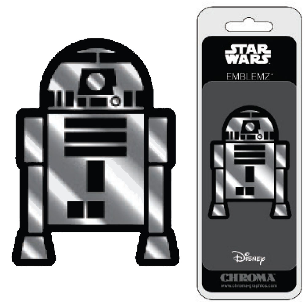 3d chrome emblem car truck suv home office disney star wars r2 d2 - Don T Tread On Me License Plate Frame