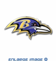 3D Color Emblem - Baltimore Ravens