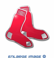 3D Color Emblem - Boston Red Sox