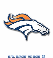 3D Color Emblem - Denver Broncos