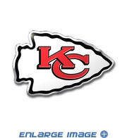 3D Color Emblem - Kansas City Chiefs