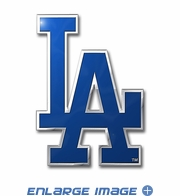 3D Color Emblem - Los Angeles Dodgers