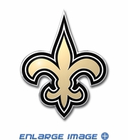 3D Color Emblem - New Orleans Saints