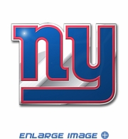 3D Color Emblem - New York Giants