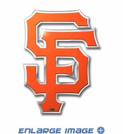 3D Color Emblem - San Francisco Giants