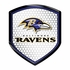 3D Color Shield Reflector - Baltimore Ravens