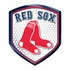 3D Color Shield Reflector - Boston Red Sox