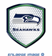 3D Color Shield Reflector - Seattle Seahawks