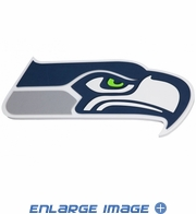 3D Large Foam Logo - Wall Sign - NFL - Seattle Seahawks