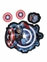 4PC Decal Set - Marvel Avengers - Captain America