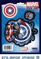 3PC Decal Set - Marvel Avengers - Captain America
