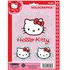 3pc Decal Sticker - Car Truck SUV - Holographix - Sanrio - Hello Kitty