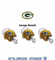 Air Freshener - 3-PACK - Green Bay Packers