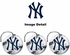 Air Freshener - 3-PACK - New York Yankees