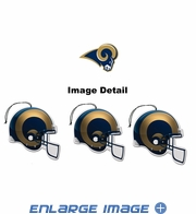 Air Freshener - 3-PACK - St. Louis Rams