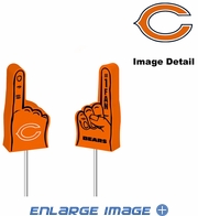 Antenna Topper - Car Pencil - Mini Foam Finger - Chicago Bears