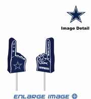 Antenna Topper - Car Pencil - Mini Foam Finger - Dallas Cowboys