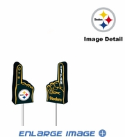 Antenna Topper - Car Pencil - Mini Foam Finger - Pittsburgh Steelers
